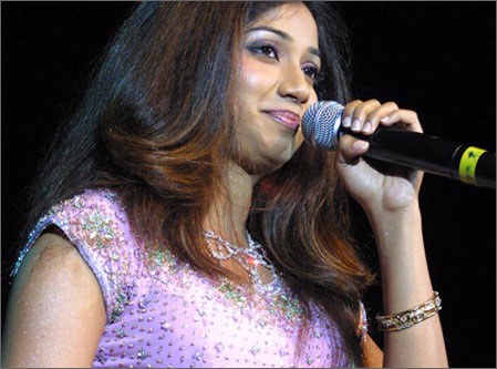 Shreya who was desperate to at